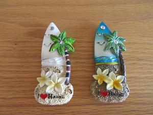 I♥Hawaii マグネット雑貨 サーフボード
