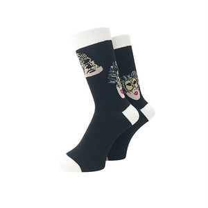 WHIMSY - 32/1 MASK SOCKS (Black)