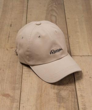 LOGO TWILL CAP[REH052]