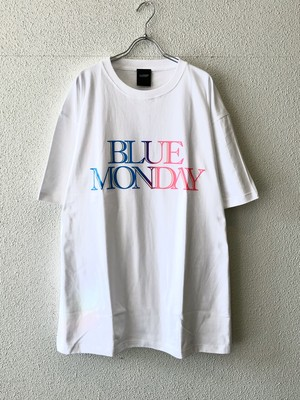 【20017】BLUE MONDAY S/S Tee (WHITE)