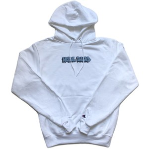 HOTEL BLUE / GRAFF CHAMPION HOODY WHITE