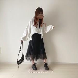 lace design skirt[9/23n-16]
