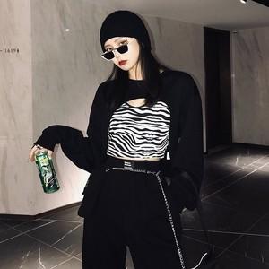 zebra pattern unique tops