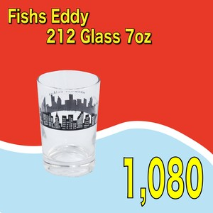Fishs Eddy / 212 Glass 7oz