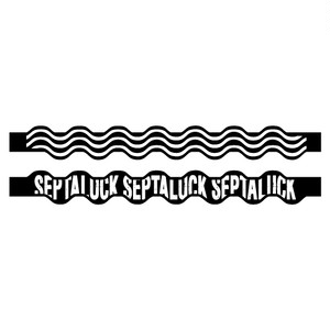 SEA WAVE RUBBER BAND  Black