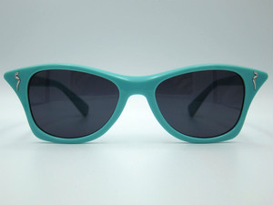 "Shady Spex ""MEOW"" sunglasses, Turquoise w/Gray lenses"