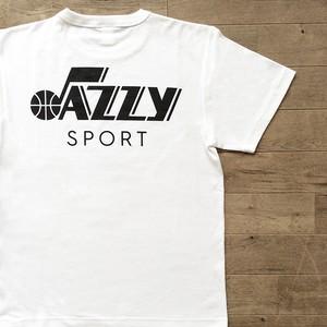 "JS ""Utah Jazz"" ロゴ Tシャツ/ホワイト"