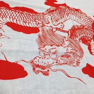 Dragon九谷  斎田道開 赤龍図手拭