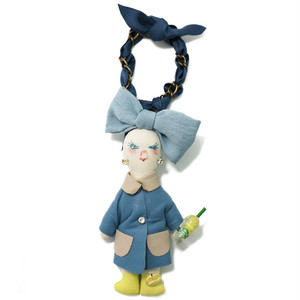 DEMODEE JYAKSYO TRENCH BLUE