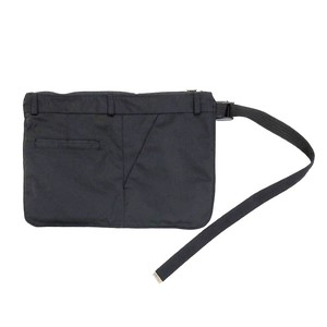HIDAKA BUM BAG BLACK