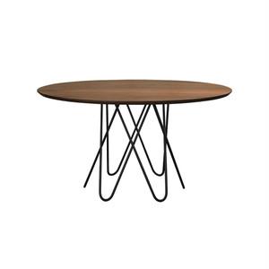 アウレリア ダイニングテーブル ウォールナット φ1400