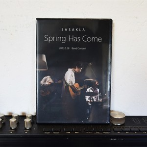 【DVD】Spring Has Come / 笹倉慎介