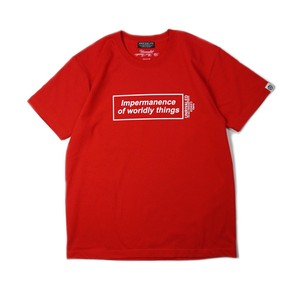 """ANRIVALED by UNRIVALED """"IOWT-SHIRT"""" RED"""