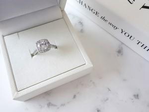 square cut ring