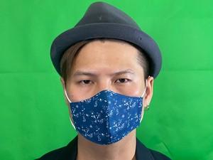 X+マスク NEWカラー 紺 サイズS