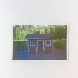 ポストカード フィンランド 小屋