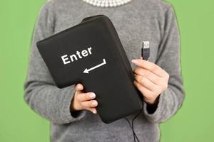 BIG ENTER 【クッション型USBエンターキー】