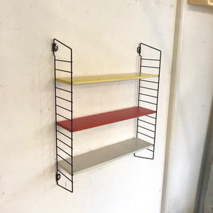 """TOMADO"" Metal Wall Mini Shelving Design by A. D. Dekker 60's オランダ"
