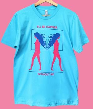 elevator teeth/I'LL BE HAPPIER T-shirts