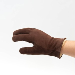 GEIER GLOVE Deer Skin Suede Glove Brown 530BRWLDP