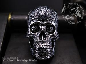 ビッグスカルリング 両眼カスタム Jinnys Skull ring BF1 Custom (両眼)
