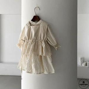 «予約» embroidery one piece 2colors 刺繍ワンピース