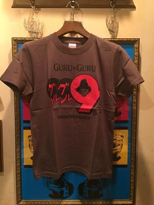 GURUxGURU 9th anniv. Tシャツ 160 SIZE ONLY