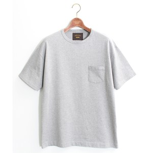 One Pocket Loose Tee -Gray