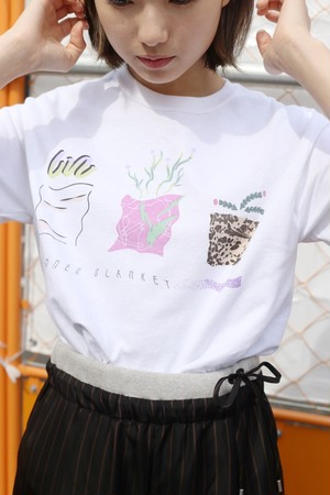 "TENUSIS  ""summer blanket T-shirt""[S]"