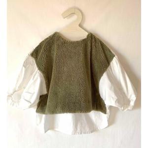 Last one L!folk made boa pullover boa M/Lサイズ  F20AW-019