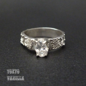 Marie -zircon ring
