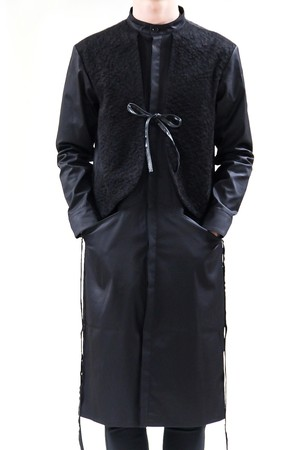 17AW Fake Vest Shirt Coat