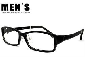 メガネ メンズ 9133-1 男性用 venus×2 MENS 黒縁