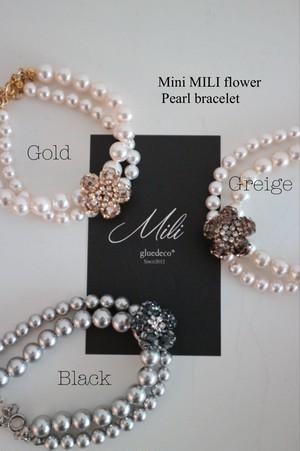 Mini MILI flowerパールブレスレット