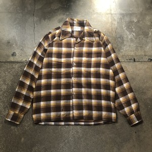 70s Flannel Shirt / USA