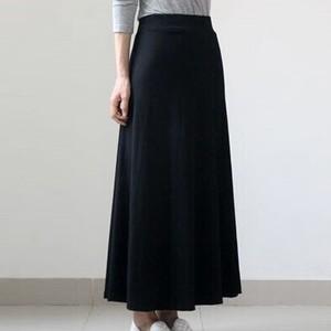 【ボトムス】カジュアルニットAラインスカート16698453