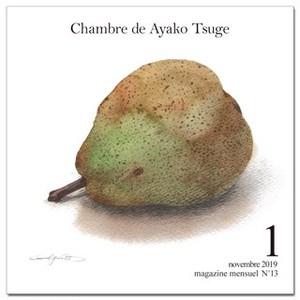 【定期購読】月刊水彩ジャーナル13月号~Chambre de Ayako Tsuge (月刊水彩ジャーナル)