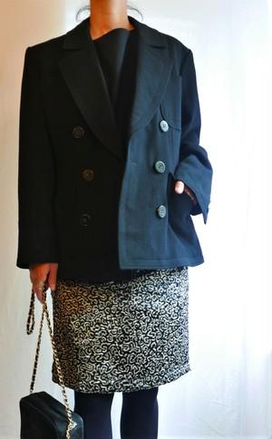 YSL 1970's rivegauche Wool Jacket