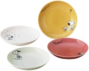 【SNOOPY】スヌーピー シーズンパスタ皿4点セット(SN610-184)