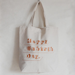 happy unbirthday  bag