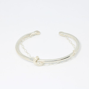 in a row/Bangle - silver
