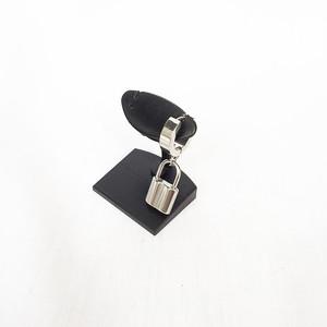 南京錠 鍵 スナップリング フープ シルバー 銀 SILVER ピアス 1948