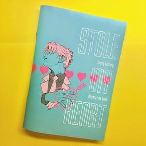 illustration book【STOLE MY HEART】
