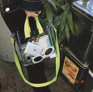 Clear Strap Bag