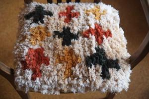 03【佐藤さんのノッティング】◆〈大サイズ〉『手織り』◆◆NEW!