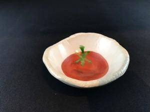 赤絵 トマト 豆皿 B