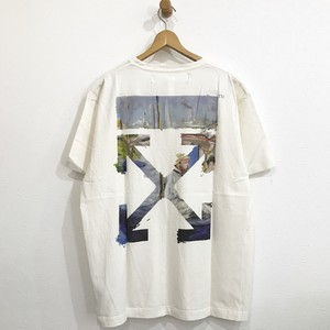 off-white COLORED ARROWS S/S OVER TEE オフホワイト