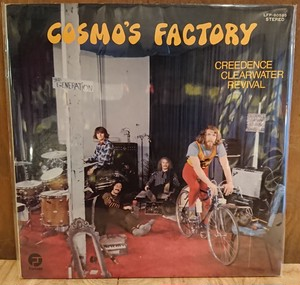 中古 LP CCR「COSMO'S FACTORY」