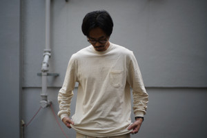 ENDS and MEANS / Pocket L/S Tee