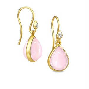JULIE SANDLAU AURORA EARRING ROSE MOON